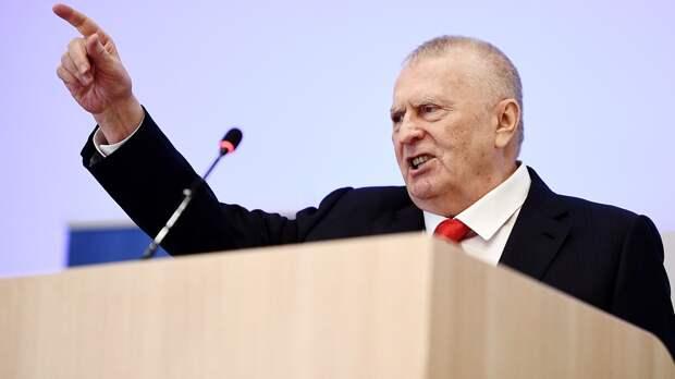 Жириновский: «Наказание запреступление Ефремова должно быть самым суровым— 12 лет колонии»