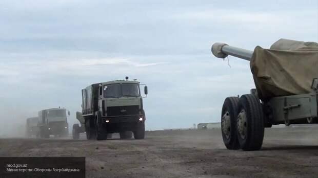 Минобороны Армении показало кадры наступления азербайджанских сил