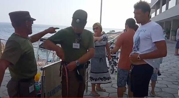 Крымские казаки откажутся от нагаек при разгоне туристов с пляжей