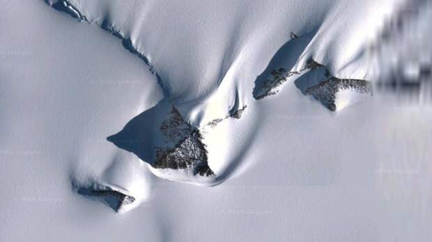 Пирамиды в Антарктиде: стало известно, кто их построил