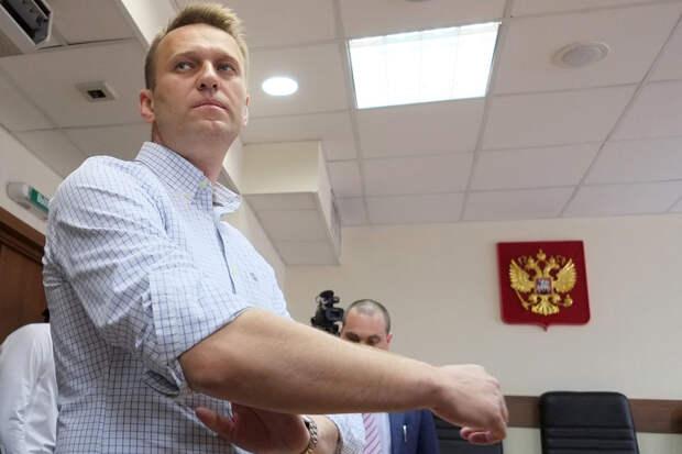 Суд признал законным арест Навального