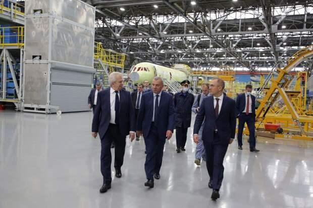 Иркутский авиазавод начал сборку еще трех самолетов МС-21