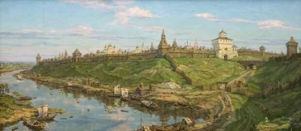 Историческая география западной части Рязанского княжества XII-начала XVI в.