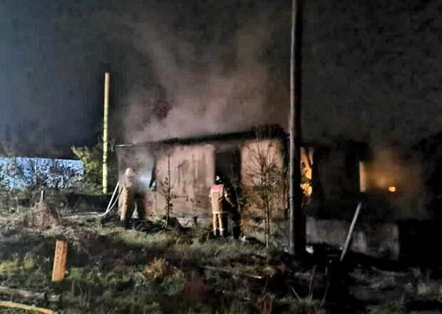 В Новороссийске при пожаре погиб мужчина