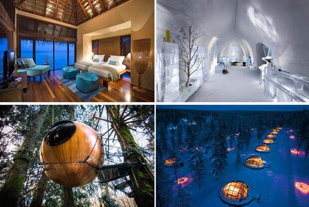 Фантастические отели мира, в которые хочется возвращаться снова и снова