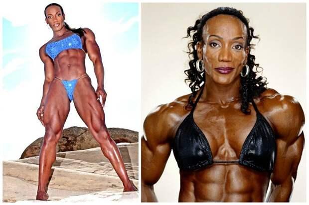 Ленда Мюррей - Мисс Олимпия бодибилдеры, всячина, женщины, интересное, красота, культуризм, сила, спорт