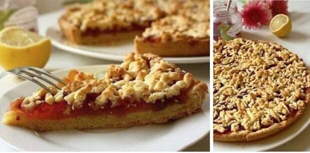 Без сомненья, это один из лучших рецептов тертого пирога!