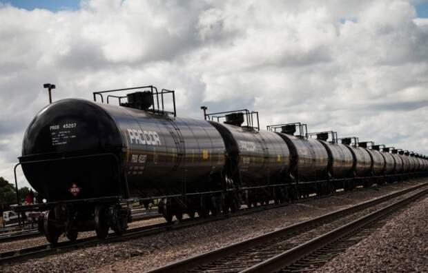 нефть цистерны