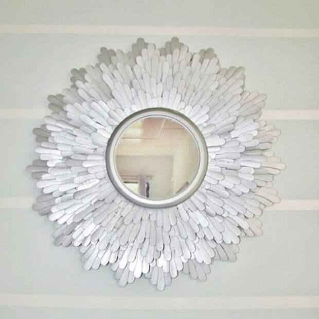 Стильное зеркало своими руками