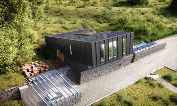 Скандинавские инженеры-новаторы представили дом, который производит больше энергии, чем потребляет. | Фото: supercoolpics.com.