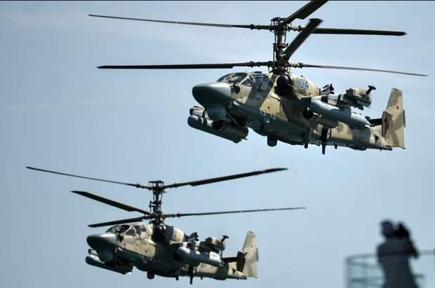 Ка-52М – новый модернизированный вертолет Армии России