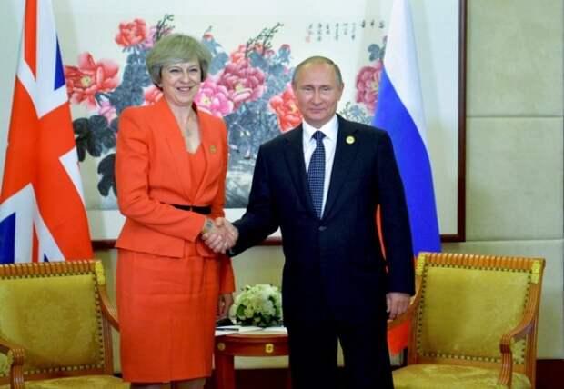 Путин и Мэй встретятся на саммите G20
