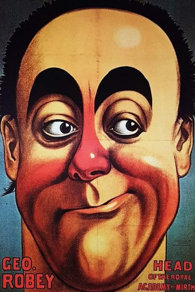Джордж Роби до последний дней жизни блистал на подмостках мюзик-холла.