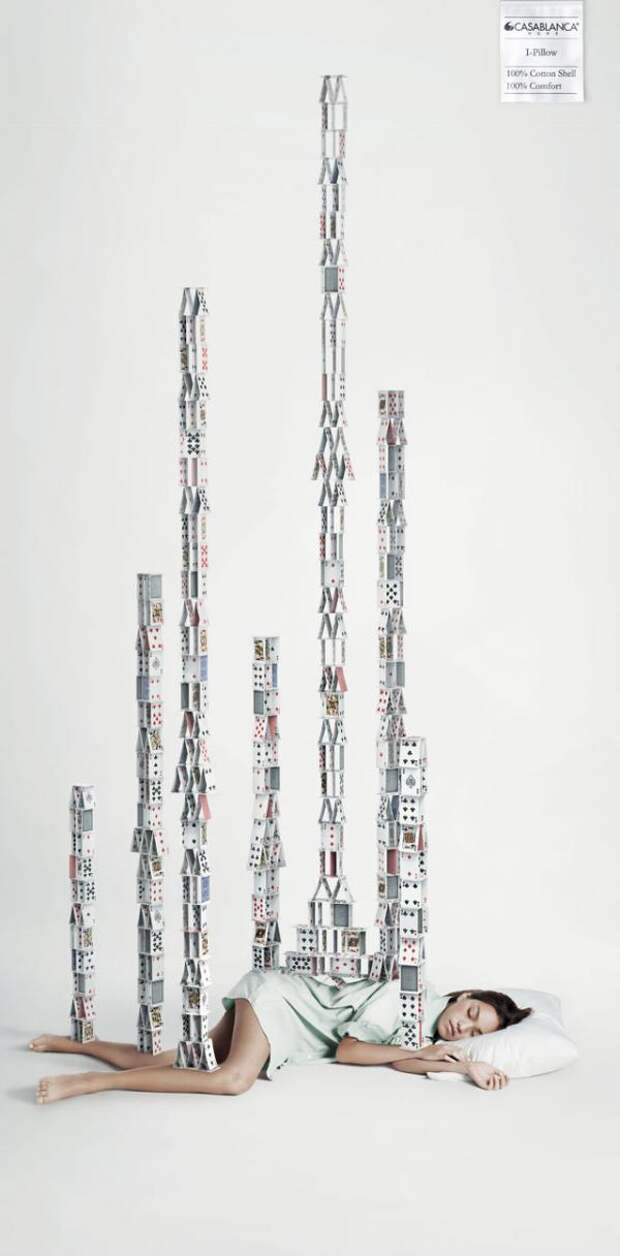 Deep Sleep, 3, Casablanca, Leo Burnett Hong Kong, Печатная реклама