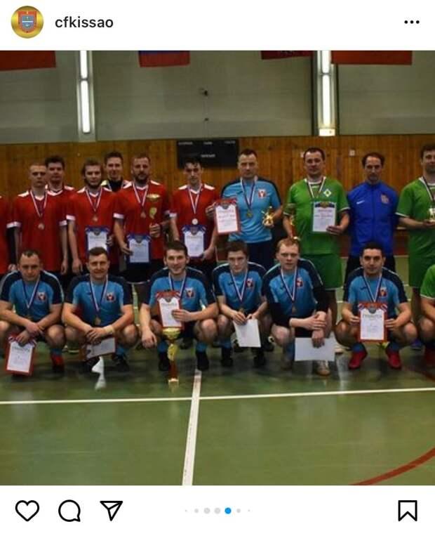 Бескудниковская команда заняла второе место в соревнованиях по мини-футболу