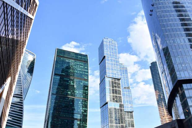 Пожар произошёл в одной из башен комплекса «Москва-Сити»