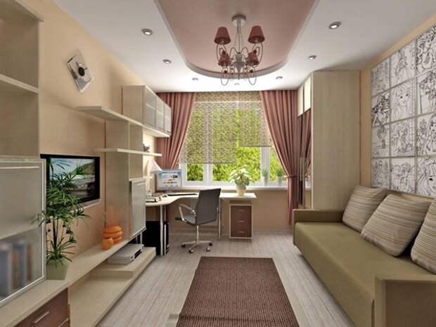 Дизайн комнаты для девочки-подростка должен быть стильным и в тоже время практичным.