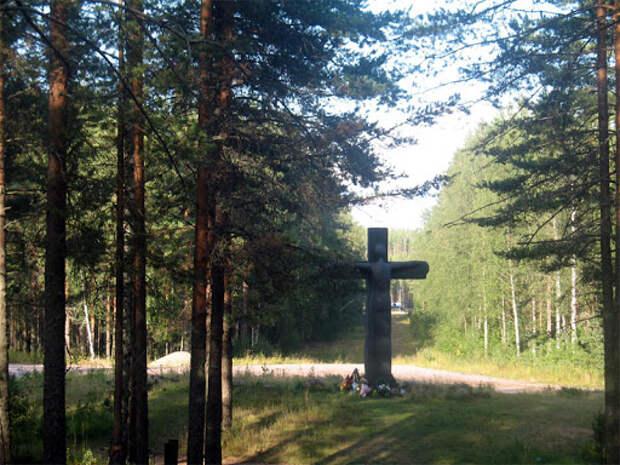 Лагерь военнопленных N17 Олонец (Sotavankileiri) возле города ...