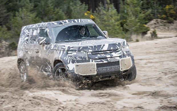 Британцы рассказали о тестах внедорожника Land Rover Defender