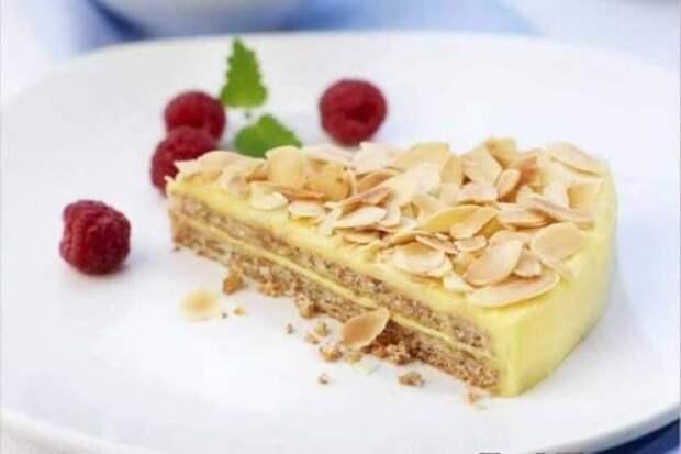 Шведский миндальный торт. Вкусная выпечка без пшеничной муки 4