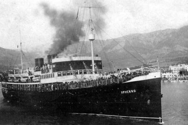 Экспедиция заявила об установлении места затопления теплохода «Армения»