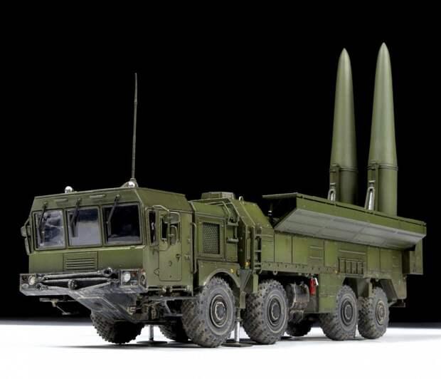 """Ракетные системы """"Искандер"""". Источник изображения:"""