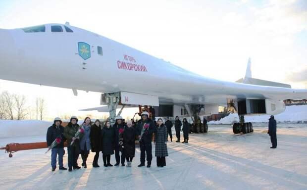 Ту-160М с новыми двигателями НК-32-02 передан для предварительных испытаний