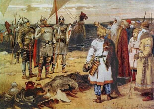 Кто правил Русью до прихода Рюрика правил, Русью, до  Рюрика