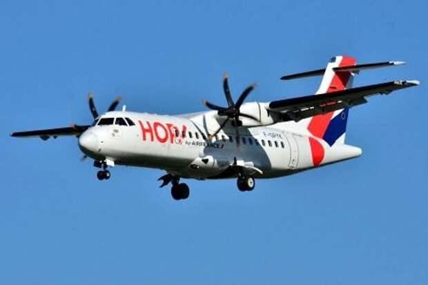 ATR 42-500 авиакомпании HOP!