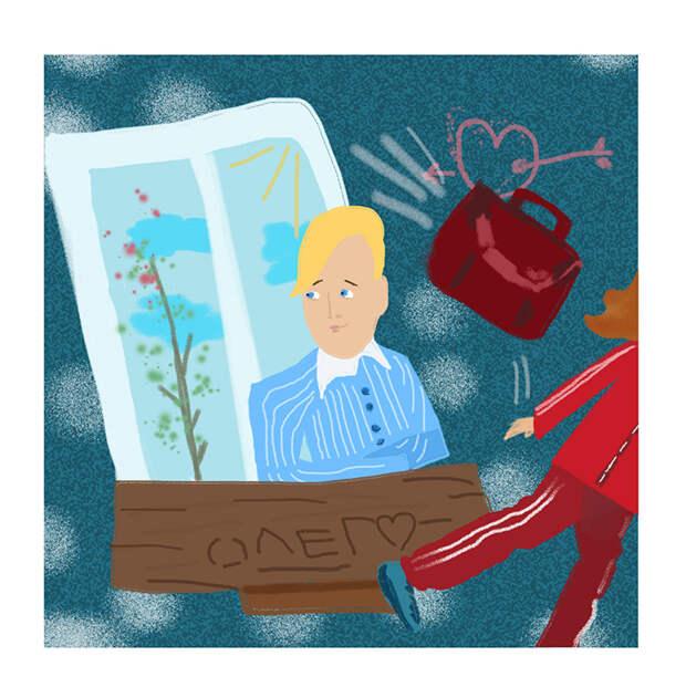 иллюстрация к сказке«Дуэль»