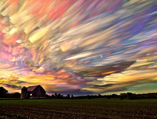 Небо в объективе Мэтта Моллоу