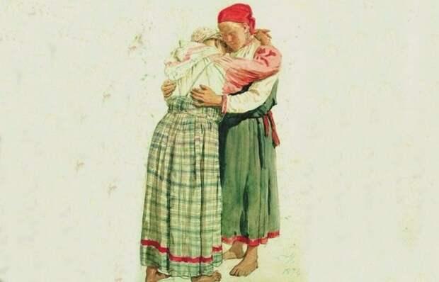Семейное насилие на Руси: За что били крестьянских женщин, и как они пытались защититься
