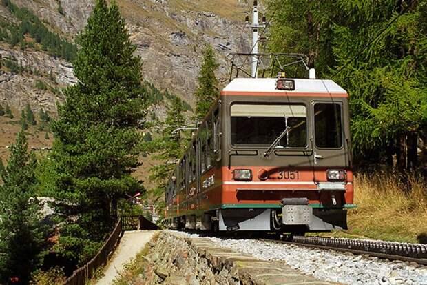 Chbahns28 Топ 5 самых необычных железных дорог Швейцарии