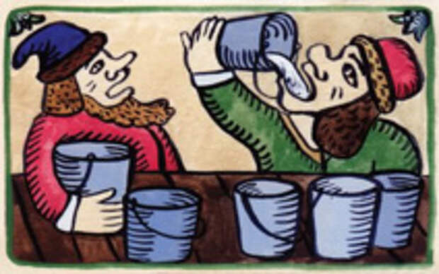 Как царь Петр зятя до смерти напоил