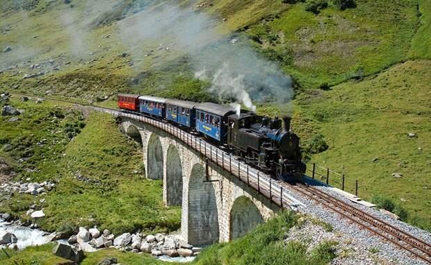 Chbahns55 Топ 5 самых необычных железных дорог Швейцарии