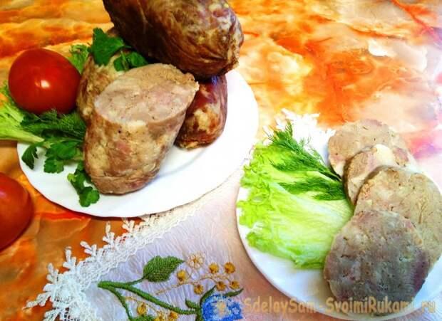 Простой рецепт вкусной домашней колбасы