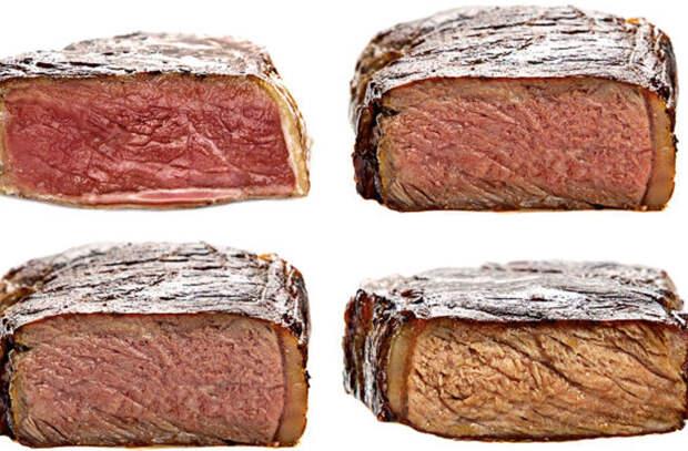 Пережаренное мясо: вред для здоровья