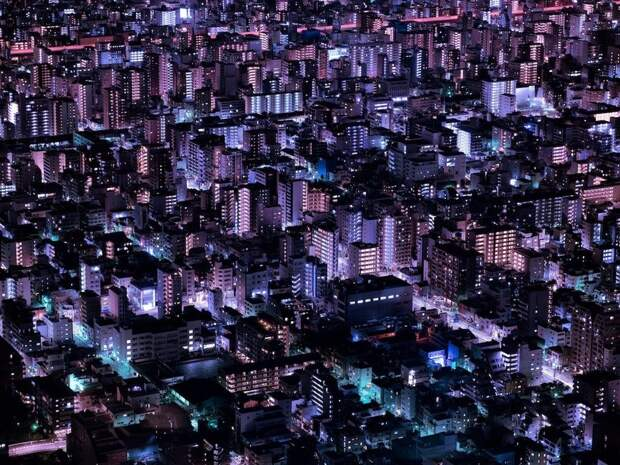 Фотограф отдает дань уважения японской культуре киберпанк