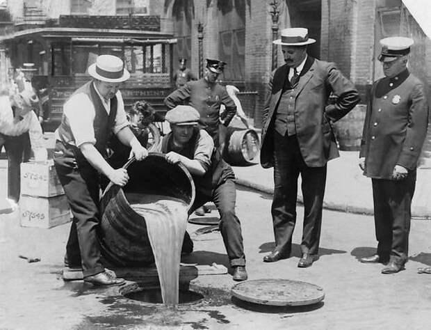 Блеск и нищета американского «сухого закона»