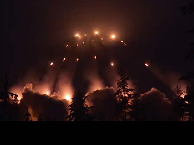 Финляндия произвела залп из 240 ракет рядом с границами России