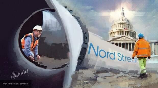 У «Северного потока-2» новые проблемы: в США начали угрожать санкциями против «Газпрома»