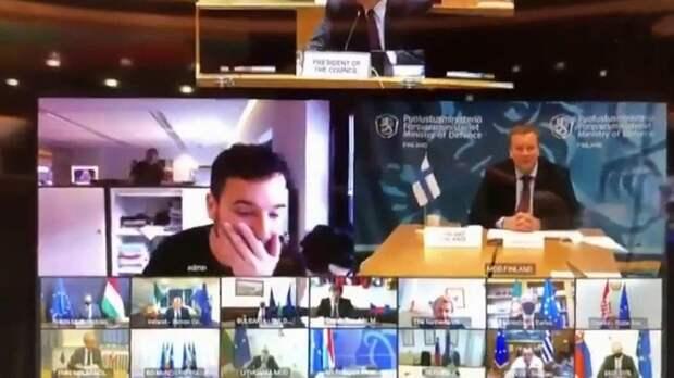 Оконфузились: журналист ворвался в секретную конференцию министров обороны ЕС