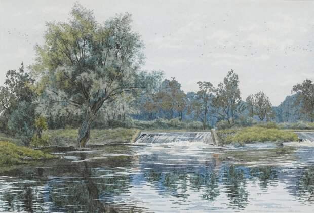 Прозрачные и нежные акварели Уильяма Фрейзера Гарден (William Fraser Garden)