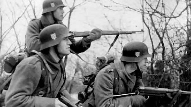 Как хорваты воевали против СССР
