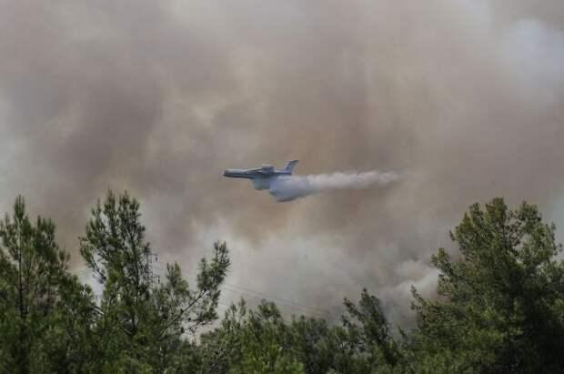 Россия отправит в Турцию самолеты и вертолеты для борьбы с пожарами