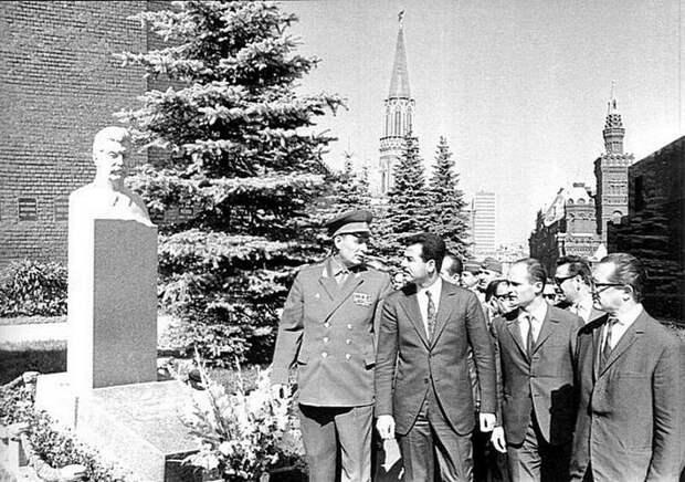 Саддам Хуссейн приезжает с дружеским визитом в СССР, 1972 год Весь Мир, история, фотографии