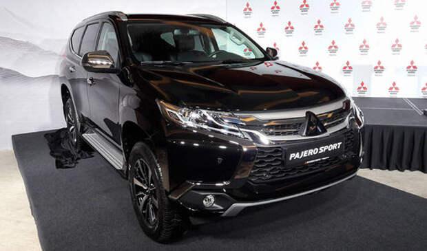 Mitsubishi в ноябре начнет собирать новый Pajero Sport в Калуге