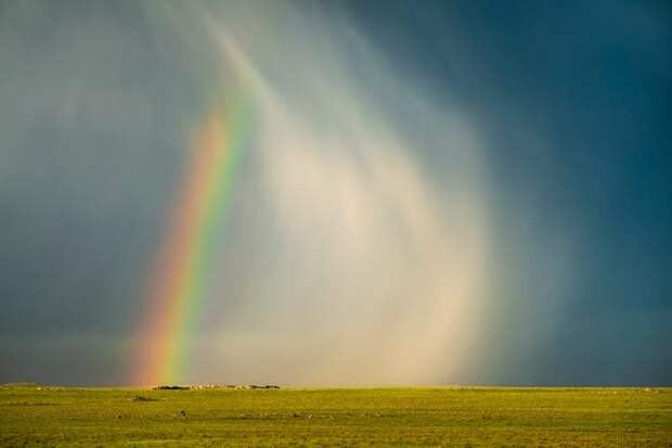 Фотограф провел годы, преследуя бури. Аллея Торнадо - его дом