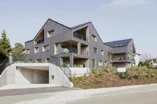 Автономный энергоэффективный дом по стандарту Minergie (Швейцария). | Фото: swissinfo.ch.