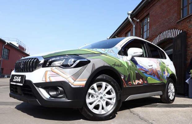 В России представил экскклюзвиную Suzuki SX4